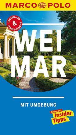 MARCO POLO Reiseführer Weimar von Sucher,  Kerstin, Wurlitzer,  Bernd