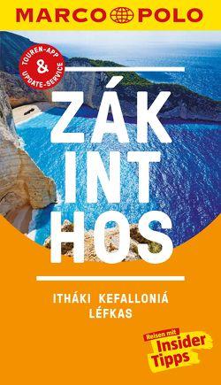MARCO POLO Reiseführer Zákinthos, Itháki, Kefalloniá, Léfkas von Bötig,  Klaus