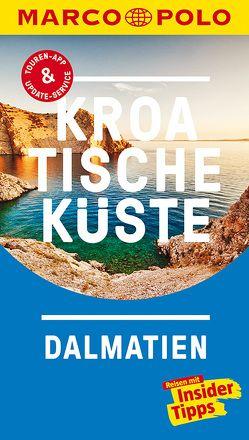 MARCO POLO Reiseführer Kroatische Küste Dalmatien von Cancar,  Nina, Schetar,  Daniela