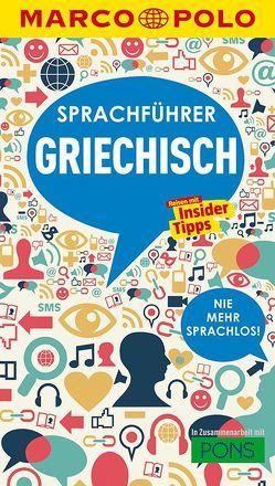 MARCO POLO Sprachführer Griechisch von Meißler,  Andreas