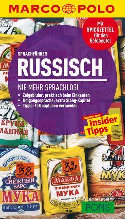 MARCO POLO Sprachführer Russisch von Junger,  Ursula