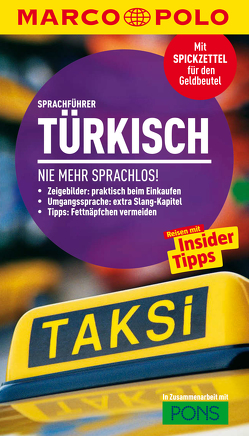 MARCO POLO Sprachführer Türkisch von Vetter,  Gregor