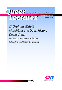 Mardi Gras und Queer History Down Under von Feddersen,  Jan, Pretzel,  Andreas, Willett,  Graham