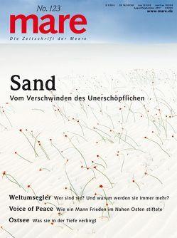 mare – Die Zeitschrift der Meere / No. 123 / Sand von Gelpke,  Nikolaus