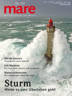 mare – Die Zeitschrift der Meere / No. 130/ Sturm von Gelpke,  Nikolaus