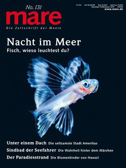 mare – Die Zeitschrift der Meere / No. 131/ Nacht im Meer von Gelpke,  Nikolaus