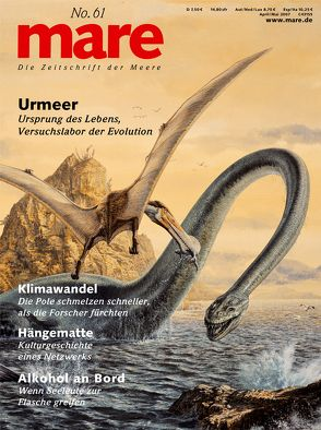 mare – Die Zeitschrift der Meere / No. 61 / Urmeer von Gelpke,  Nikolaus