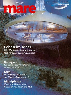 mare – Die Zeitschrift der Meere / No. 66 / Leben im Meer von Gelpke,  Nikolaus