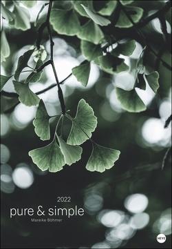 Mareike Böhmer: pure & simple Kalender 2022 von Böhmer,  Mareike, Heye