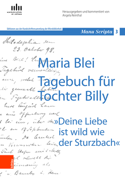 Maria Blei:: Tagebuch für Tochter Billy von Hubmann,  Gerhard, Reinthal,  Angela