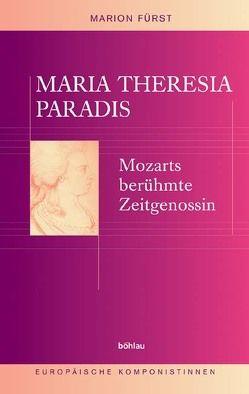 Maria Theresia Paradis von Fuerst,  Marion