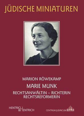 Marie Munk von Röwekamp,  Marion