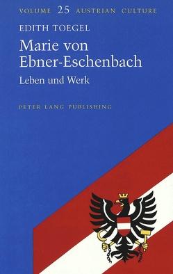Marie von Ebner-Eschenbach von Toegel,  Edith
