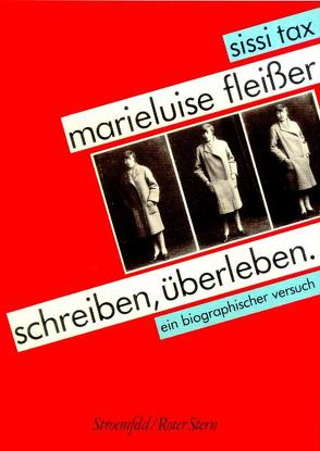 Marieluise Fleisser von Tax,  Sissi