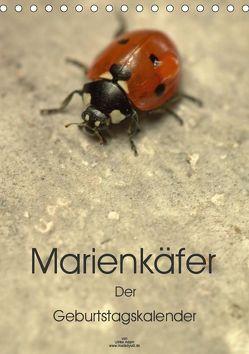 Marienkäfer – Der Geburtstagskalender (Tischkalender 2019 DIN A5 hoch) von Adam,  Ulrike