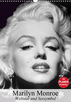 Marilyn Monroe. Weltstar und Sexsymbol (Wandkalender 2020 DIN A3 hoch) von Stanzer,  Elisabeth