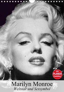 Marilyn Monroe. Weltstar und Sexsymbol (Wandkalender 2020 DIN A4 hoch) von Stanzer,  Elisabeth