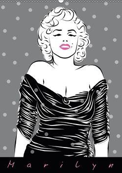 Marilyn (Wandkalender 2018 DIN A2 hoch) von Prestele,  Walter