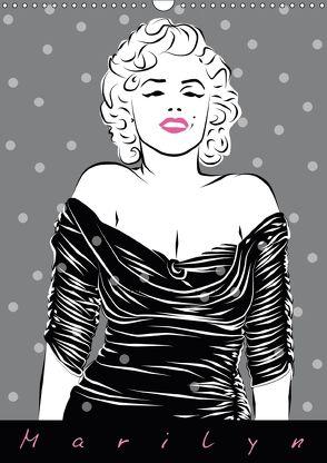Marilyn (Wandkalender 2018 DIN A3 hoch) von Prestele,  Walter