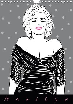 Marilyn (Wandkalender 2018 DIN A4 hoch) von Prestele,  Walter