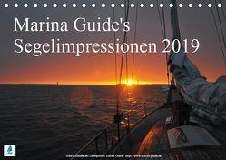 Marina Guide's Segelimpressionen 2019 (Tischkalender 2019 DIN A5 quer) von Guide,  Marina, Stasch,  Thomas