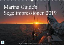Marina Guide's Segelimpressionen 2019 (Wandkalender 2019 DIN A3 quer) von Guide,  Marina, Stasch,  Thomas