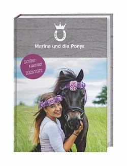 Marina und die Ponys Schülerkalender A5 Kalender 2022 von Heye, Marina