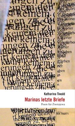 Marinas letzte Briefe von Tiwald,  Katharina