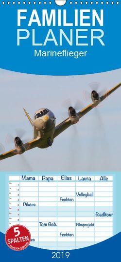 Marineflieger – Familienplaner hoch (Wandkalender 2019 , 21 cm x 45 cm, hoch) von Henning,  Eike