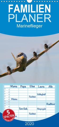Marineflieger – Familienplaner hoch (Wandkalender 2020 , 21 cm x 45 cm, hoch) von Henning,  Eike
