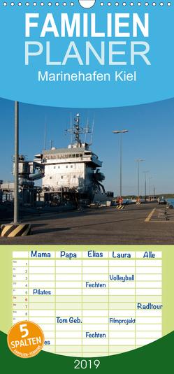 Marinehafen Kiel – Familienplaner hoch (Wandkalender 2019 , 21 cm x 45 cm, hoch) von happyroger