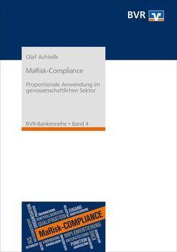 MaRisk-Compliance von Achtelik,  Olaf