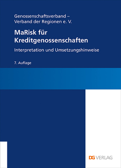 MaRisk für Kreditgenossenschaften von Behrends,  Tino, Welter,  Christine