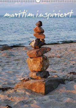 maritim inspiriert / Geburtstagskalender (Wandkalender 2019 DIN A3 hoch) von Brandt,  Jessica
