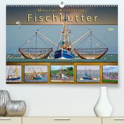 Maritime Augenblicke – Fischkutter (Premium, hochwertiger DIN A2 Wandkalender 2021, Kunstdruck in Hochglanz) von Roder,  Peter
