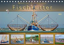 Maritime Augenblicke – Fischkutter (Tischkalender 2019 DIN A5 quer) von Roder,  Peter