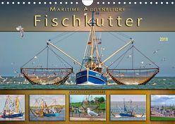 Maritime Augenblicke – Fischkutter (Wandkalender 2019 DIN A4 quer) von Roder,  Peter