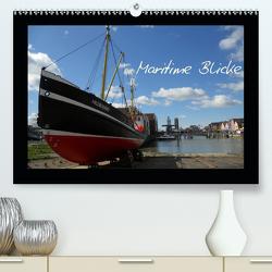 Maritime Blicke (Premium, hochwertiger DIN A2 Wandkalender 2021, Kunstdruck in Hochglanz) von Thede,  Peter