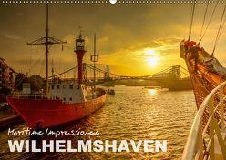 Maritime Impressionen Wilhelmshaven (Wandkalender 2019 DIN A2 quer) von www.geniusstrand.de,  ©