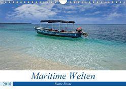 Maritimes – Bunte Boote (Wandkalender 2018 DIN A4 quer) von Schnoor,  Christian