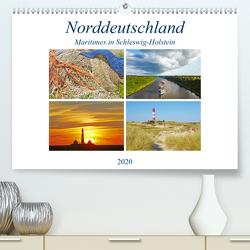 Maritimes in Schleswig-Holstein (Premium, hochwertiger DIN A2 Wandkalender 2020, Kunstdruck in Hochglanz) von Schulz,  Olaf