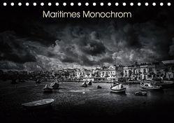 Maritimes monochrom (Tischkalender 2019 DIN A5 quer) von Kleemann,  Thomas