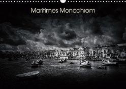 Maritimes monochrom (Wandkalender 2019 DIN A3 quer) von Kleemann,  Thomas