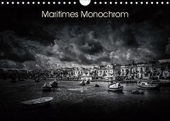 Maritimes monochrom (Wandkalender 2019 DIN A4 quer) von Kleemann,  Thomas