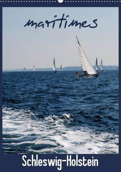 maritimes Schleswig-Holstein (Wandkalender 2019 DIN A2 hoch) von Brandt,  Jessica