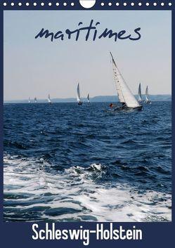 maritimes Schleswig-Holstein (Wandkalender 2019 DIN A4 hoch) von Brandt,  Jessica