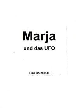 Marja und das UFO von Sackstedt,  Ulrich F