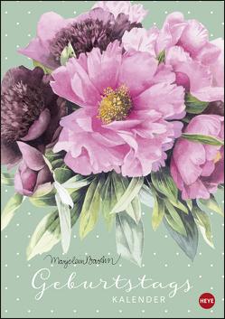 Marjolein Bastin Geburtstagskalender A4 von Bastin,  Marjolein, Heye