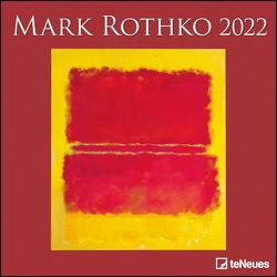 Mark Rothko 2022 – Wand-Kalender – Broschüren-Kalender – 30×30 – 30×60 geöffnet – Kunst-Kalender von Rothko,  Mark