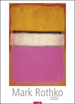 Mark Rothko Kalender 2020 von Rothko,  Mark, Weingarten